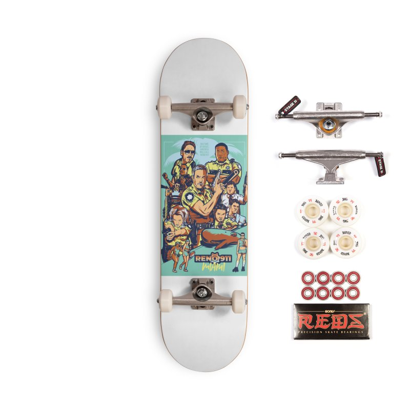 They Have Badges! Accessories Complete - Pro Skateboard by Payback Penguin