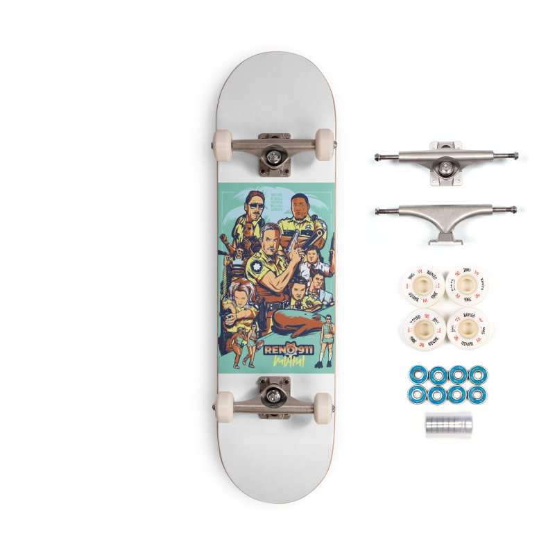 They Have Badges! Accessories Complete - Premium Skateboard by Payback Penguin