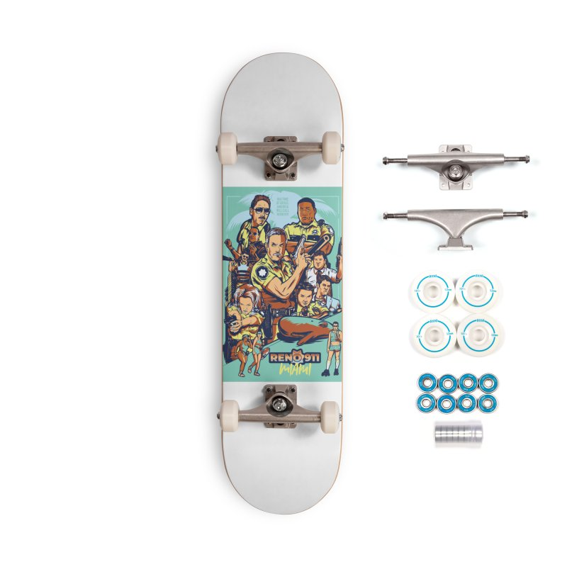They Have Badges! Accessories Skateboard by Payback Penguin