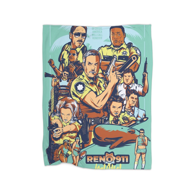 They Have Badges! Home Fleece Blanket Blanket by Payback Penguin