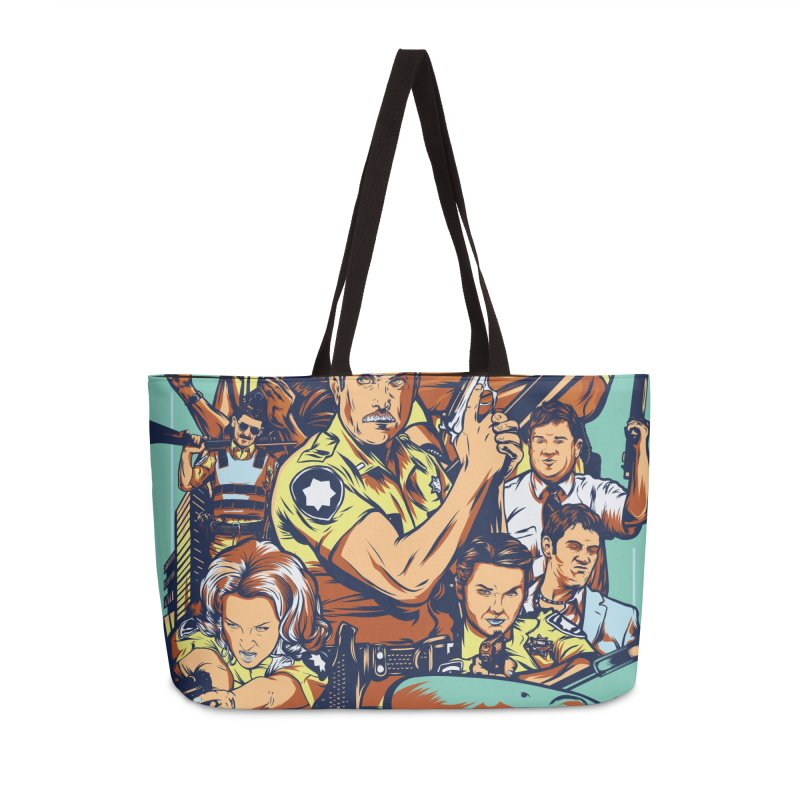 They Have Badges! Accessories Weekender Bag Bag by Payback Penguin