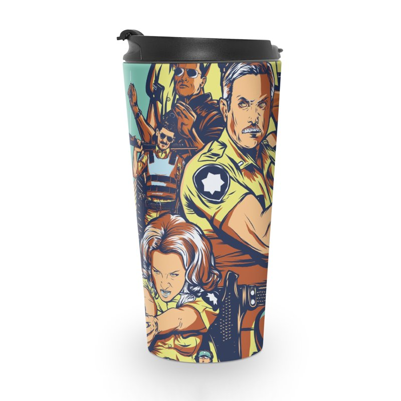 They Have Badges! Accessories Travel Mug by Payback Penguin