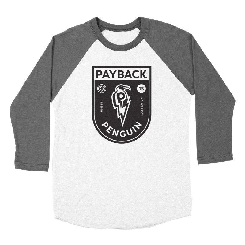 Payback Penguin Shocker Shield Women's Longsleeve T-Shirt by Payback Penguin