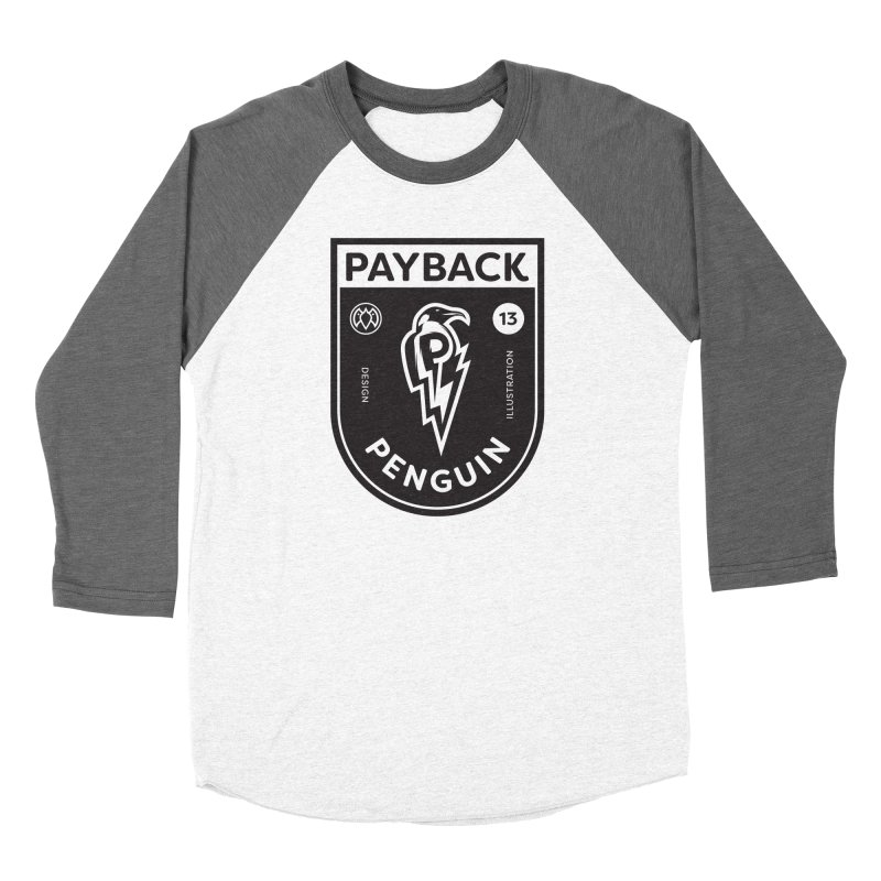 Payback Penguin Shocker Shield Men's Longsleeve T-Shirt by Payback Penguin
