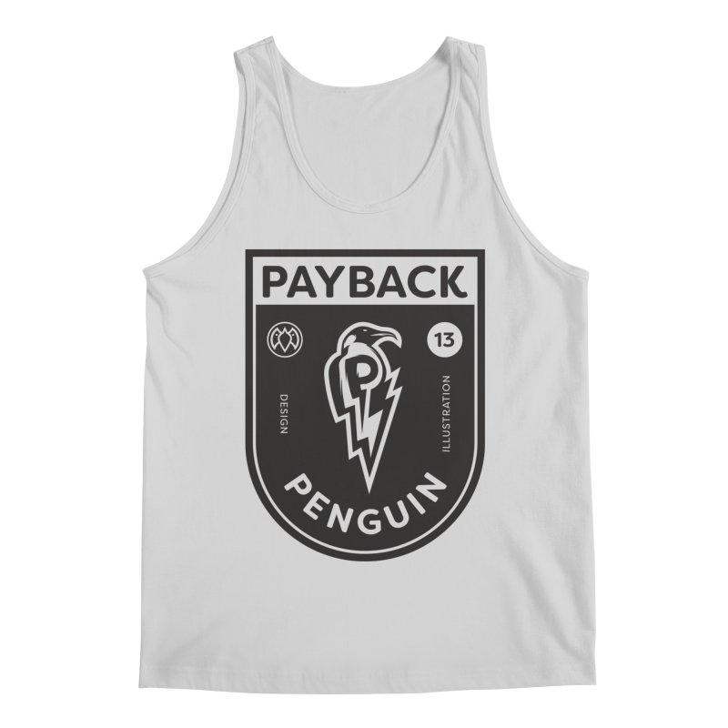 Payback Penguin Shocker Shield Men's Regular Tank by Payback Penguin