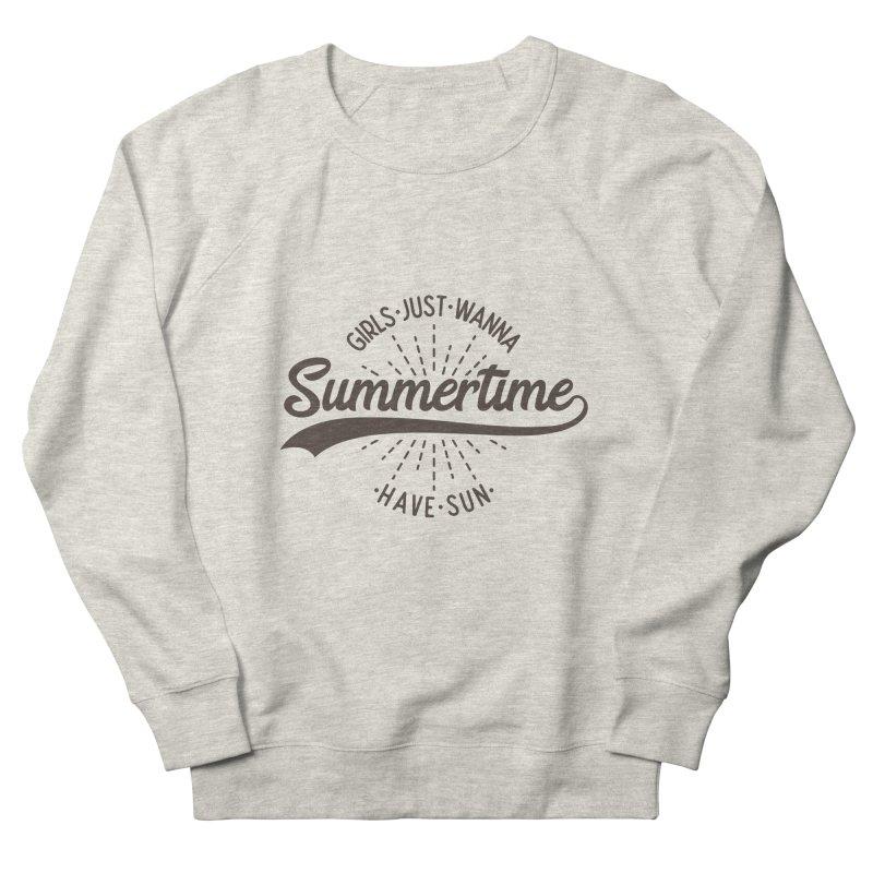Summertime - Girls Just Wanna Have Sun Men's Sweatshirt by Pbatu's Artist Shop