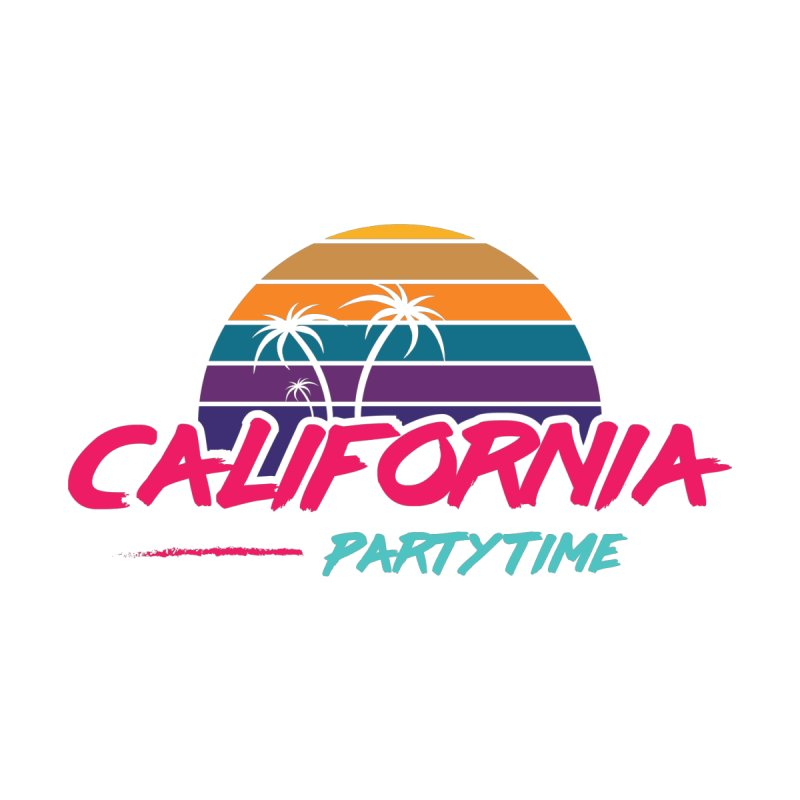California - Summervibes Accessories Sticker by Pbatu's Artist Shop