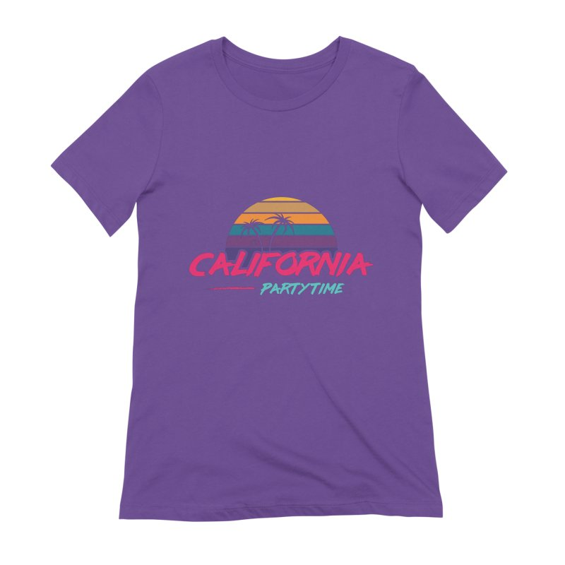 California - Summervibes Women's T-Shirt by Pbatu's Artist Shop