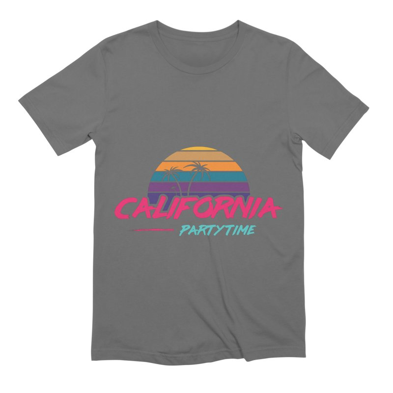 California - Summervibes Men's T-Shirt by Pbatu's Artist Shop