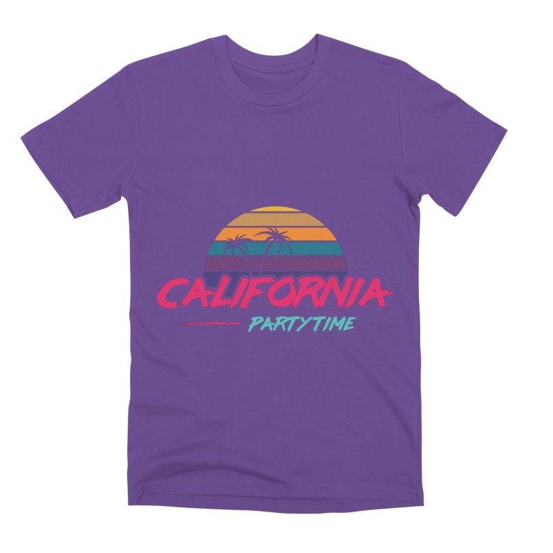 California - Summervibes Men's Premium T-Shirt by Pbatu's Artist Shop