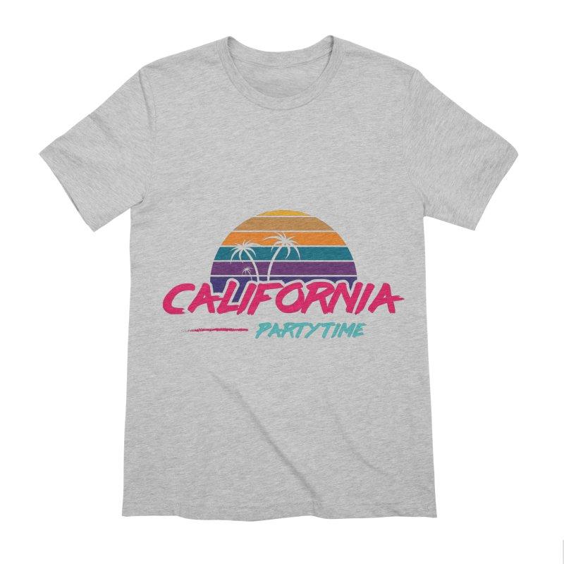 California - Summervibes Men's Extra Soft T-Shirt by Pbatu's Artist Shop