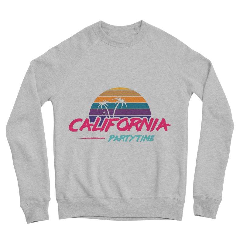 California - Summervibes Men's Sponge Fleece Sweatshirt by Pbatu's Artist Shop