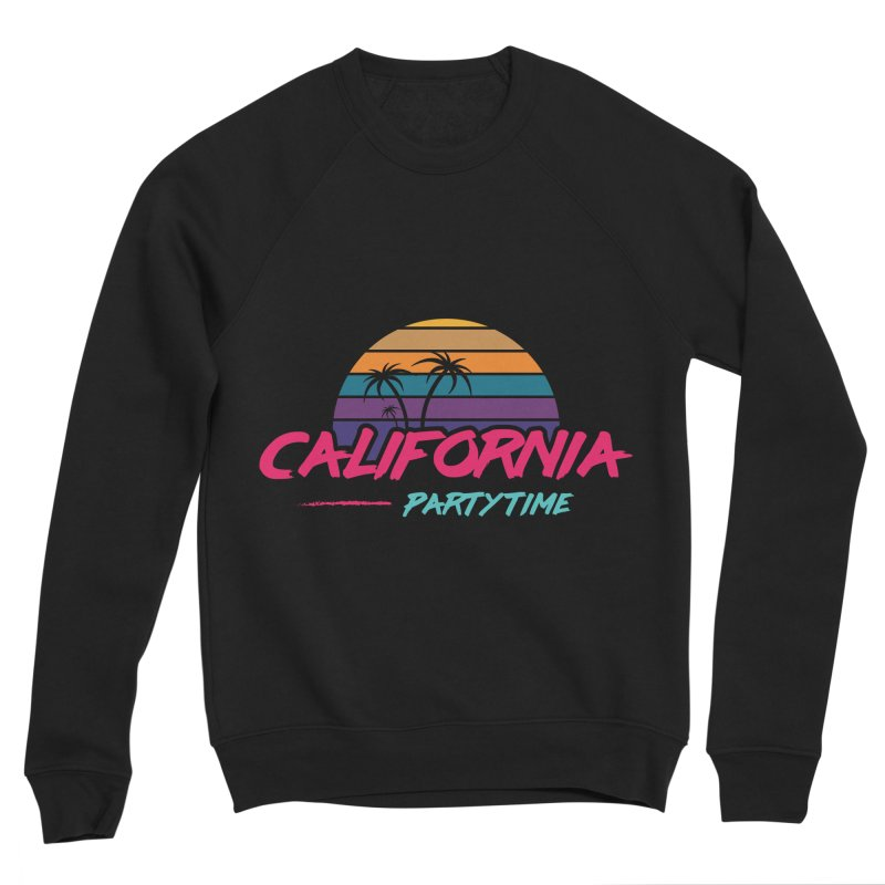 California - Summervibes Women's Sponge Fleece Sweatshirt by Pbatu's Artist Shop
