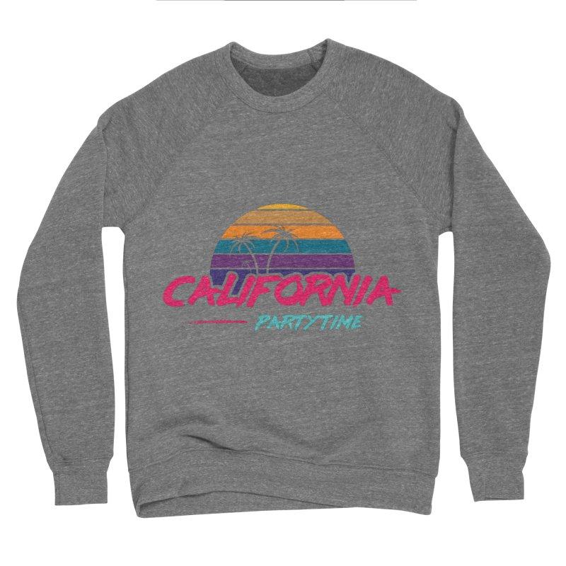 California - Summervibes Women's Sponge Fleece Sweatshirt by Pbatu's Artist Shop