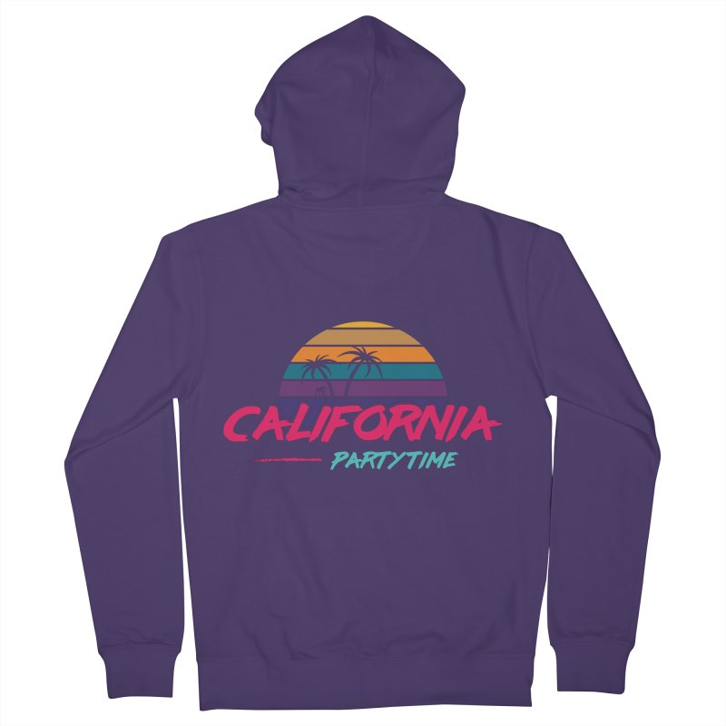California - Summervibes Women's Zip-Up Hoody by Pbatu's Artist Shop