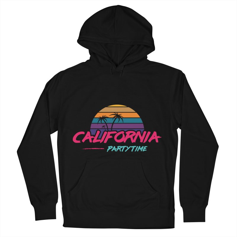 California - Summervibes Women's French Terry Pullover Hoody by Pbatu's Artist Shop