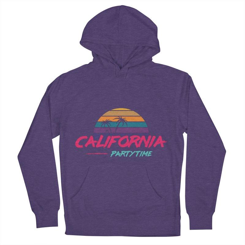 California - Summervibes Men's French Terry Pullover Hoody by Pbatu's Artist Shop