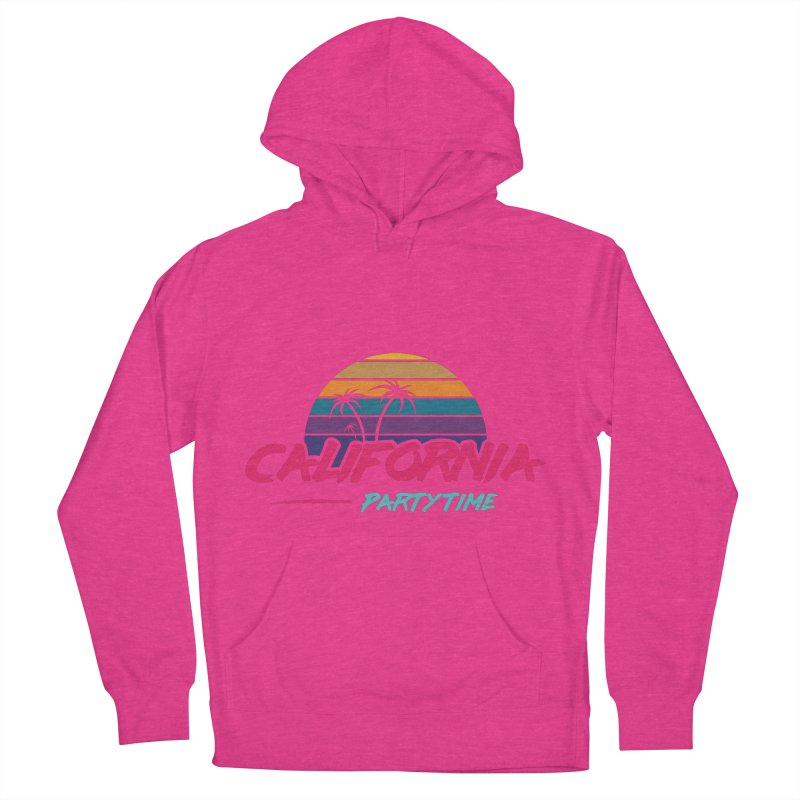 California - Summervibes Men's French Terry Pullover Hoody by Pbatu's Artist Shop