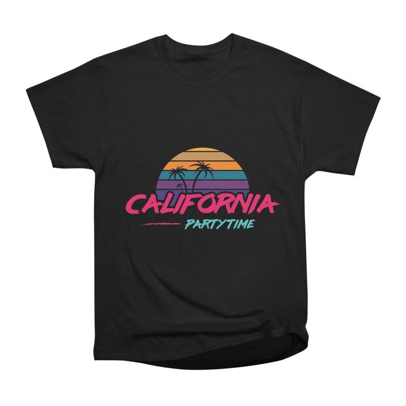 California - Summervibes Men's Heavyweight T-Shirt by Pbatu's Artist Shop