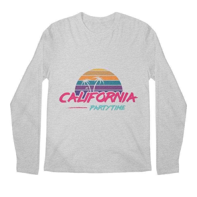 California - Summervibes Men's Regular Longsleeve T-Shirt by Pbatu's Artist Shop