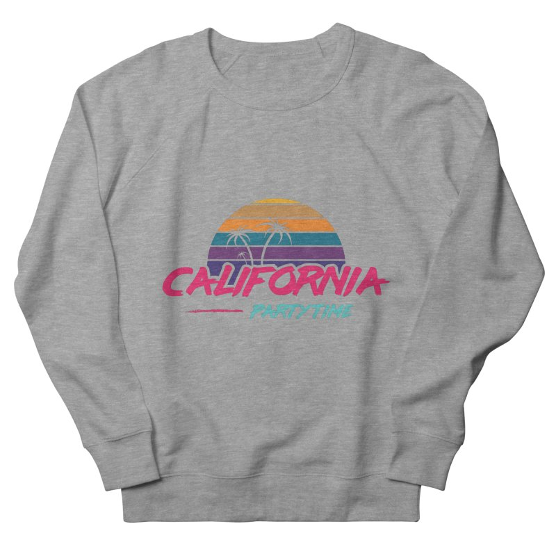 California - Summervibes Women's French Terry Sweatshirt by Pbatu's Artist Shop
