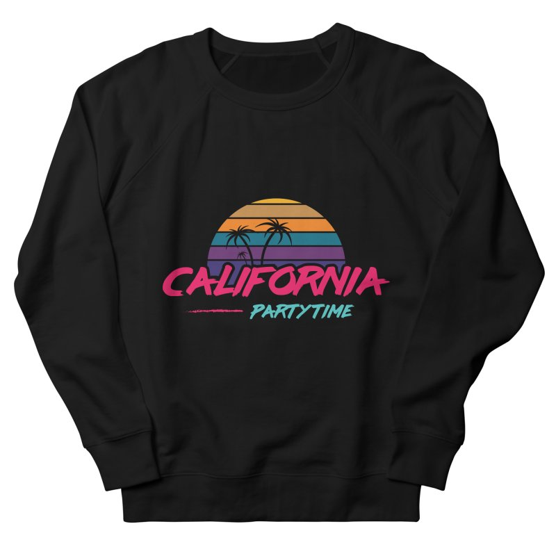 California - Summervibes Men's French Terry Sweatshirt by Pbatu's Artist Shop