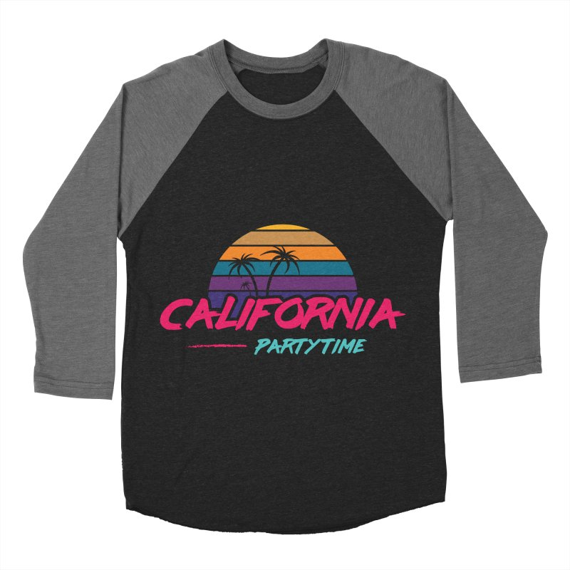 California - Summervibes Women's Baseball Triblend Longsleeve T-Shirt by Pbatu's Artist Shop