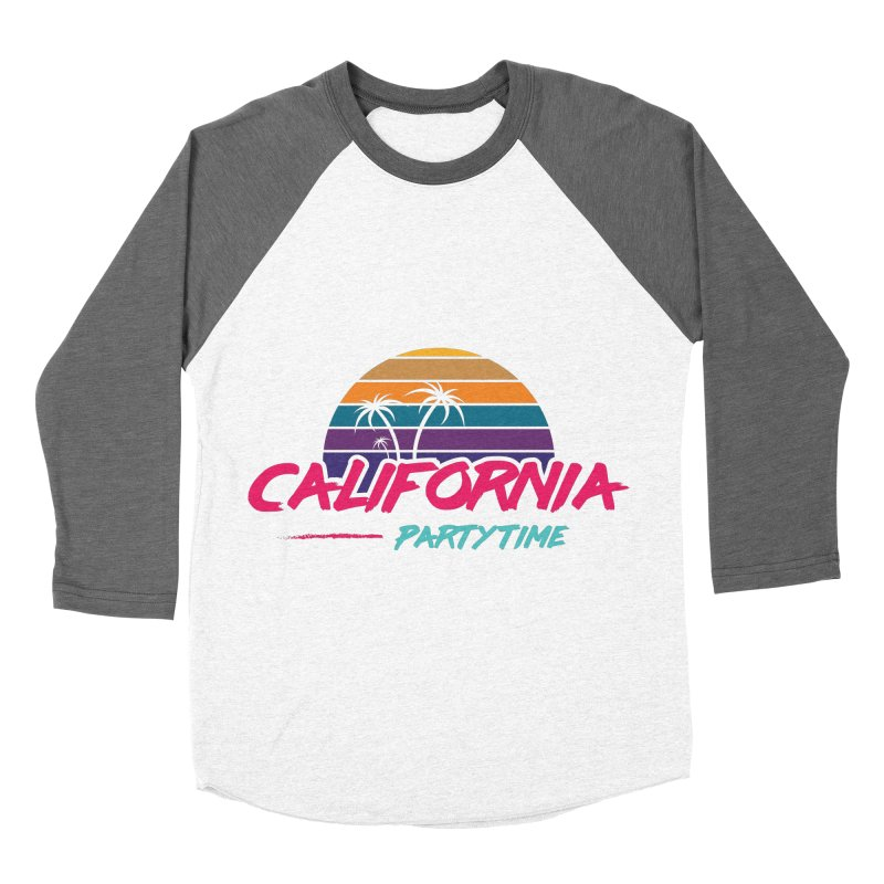California - Summervibes Men's Baseball Triblend Longsleeve T-Shirt by Pbatu's Artist Shop