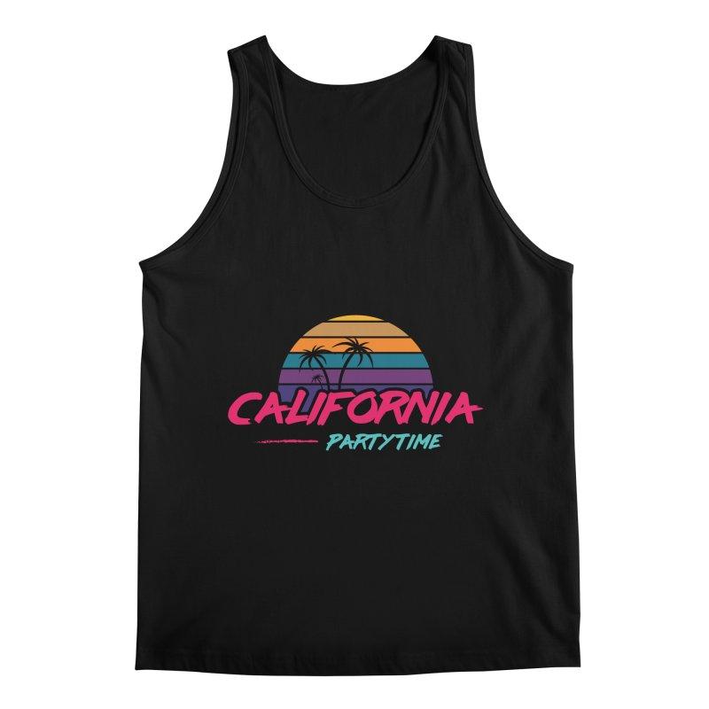California - Summervibes Men's Regular Tank by Pbatu's Artist Shop