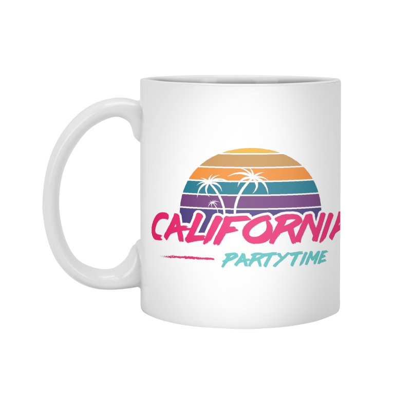 California - Summervibes Accessories Standard Mug by Pbatu's Artist Shop