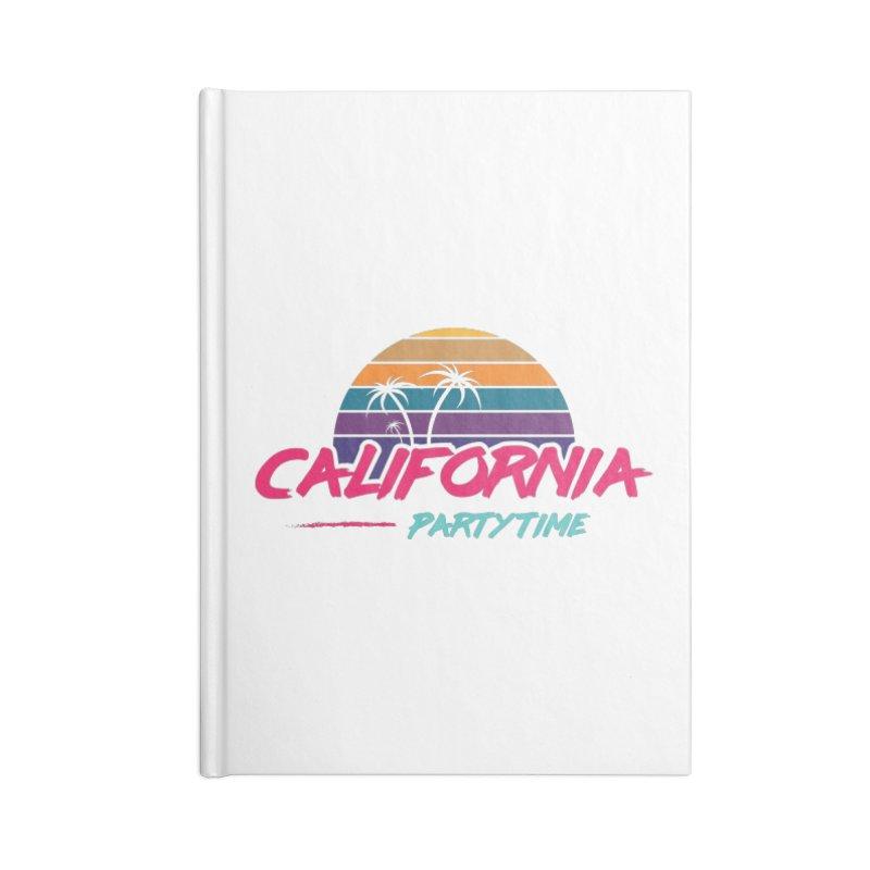 California - Summervibes Accessories Notebook by Pbatu's Artist Shop