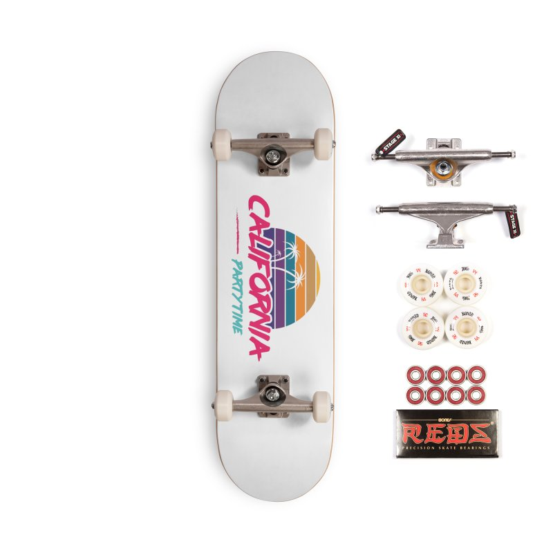 California - Summervibes Accessories Complete - Pro Skateboard by Pbatu's Artist Shop