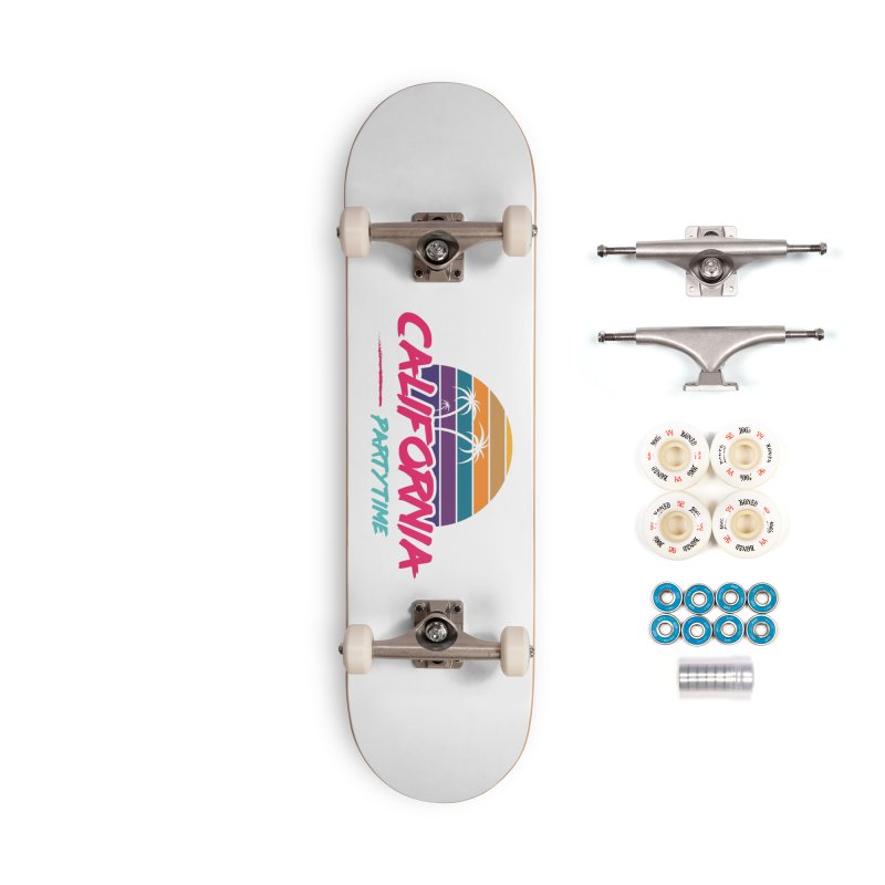 California - Summervibes Accessories Skateboard by Pbatu's Artist Shop