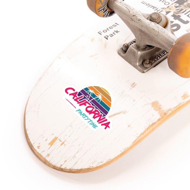 California - Summervibes Accessories Sticker by Pbatu's Artist Shop