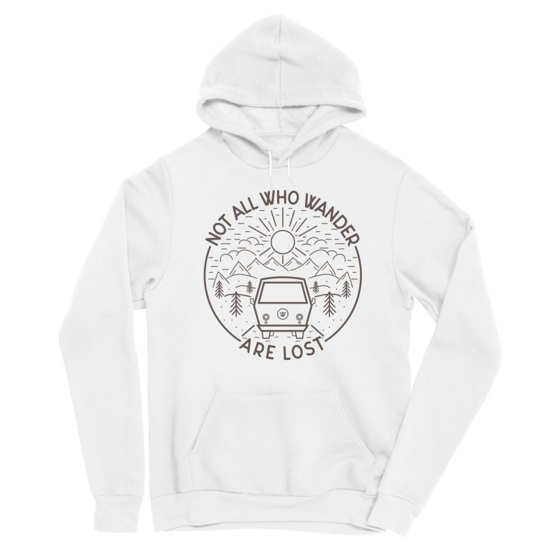 Not all Who Wander are Lost Women's Pullover Hoody by Pbatu's Artist Shop