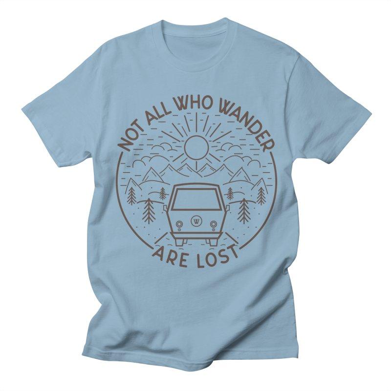Not all Who Wander are Lost Women's Regular Unisex T-Shirt by Pbatu's Artist Shop