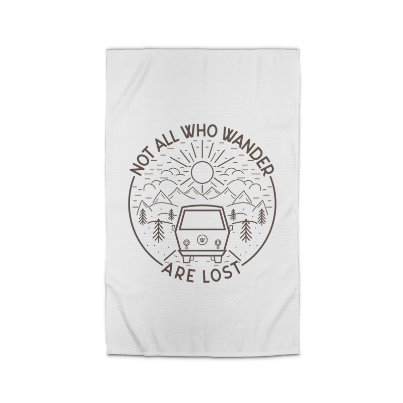 Not all Who Wander are Lost Home Rug by Pbatu's Artist Shop