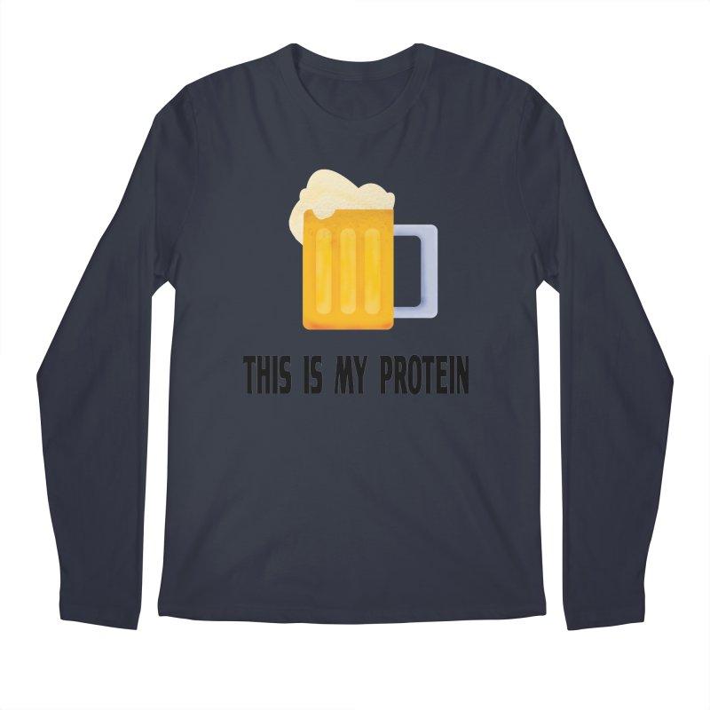 Beer lover Men's Regular Longsleeve T-Shirt by Pbatu's Artist Shop