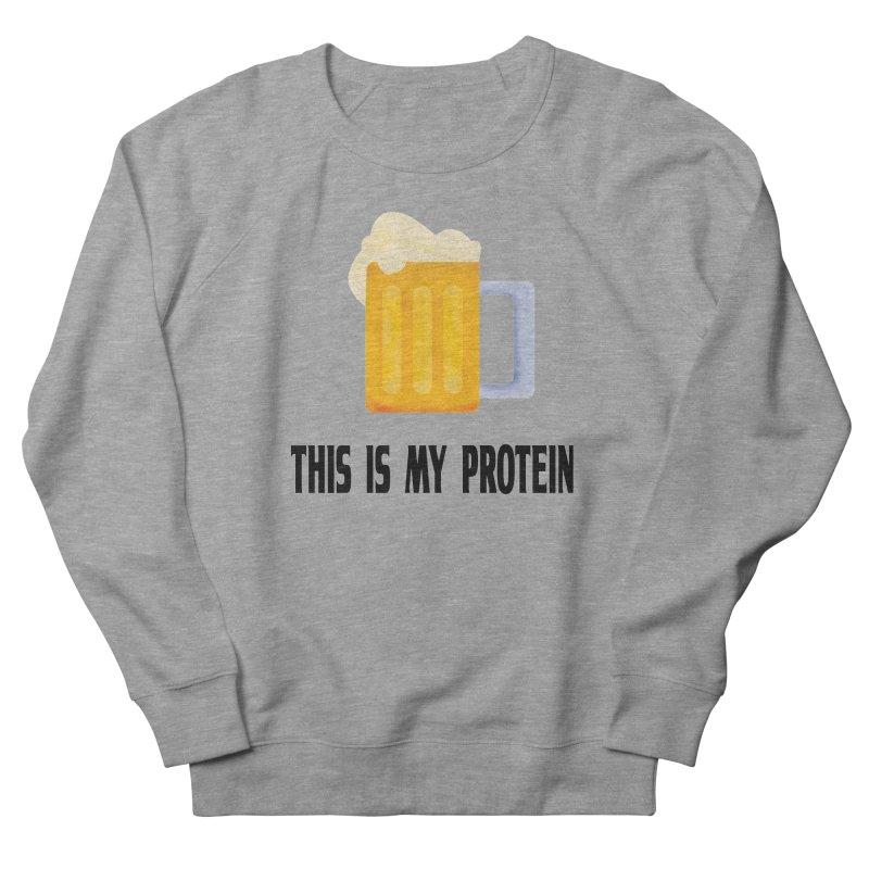 Beer lover Women's French Terry Sweatshirt by Pbatu's Artist Shop