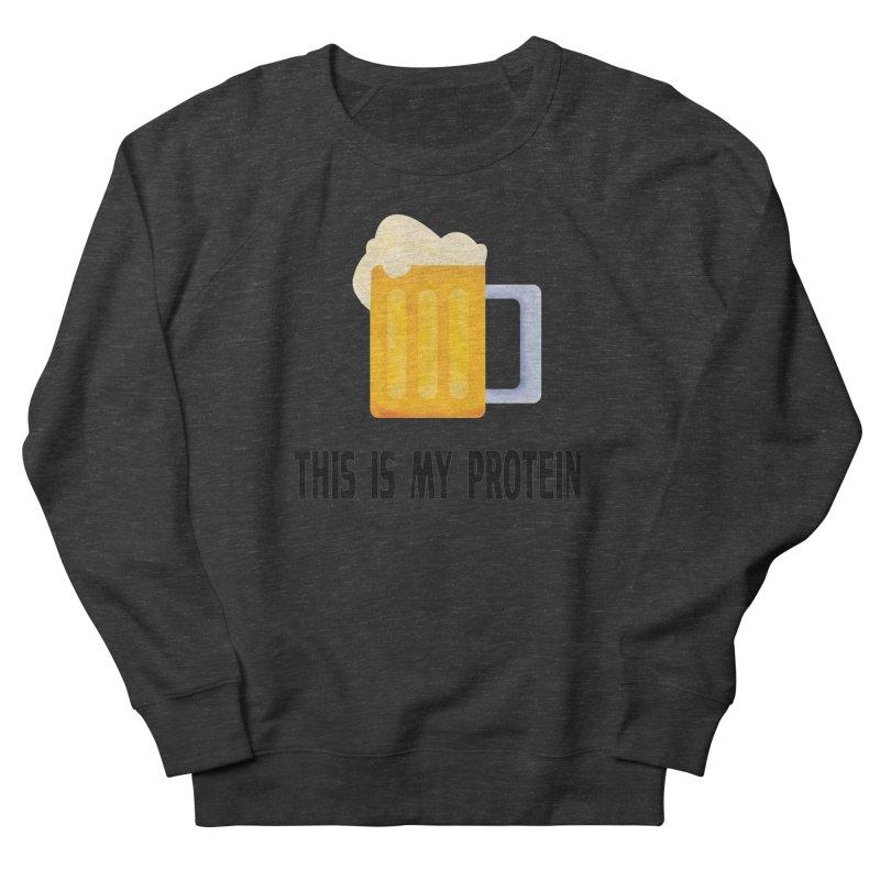Beer lover Men's French Terry Sweatshirt by Pbatu's Artist Shop