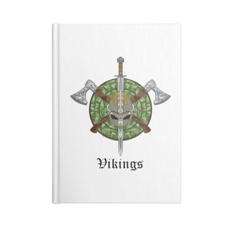 Viking Accessories Notebook by Pbatu's Artist Shop