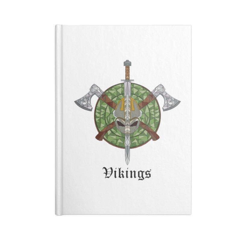 Viking Accessories Lined Journal Notebook by Pbatu's Artist Shop