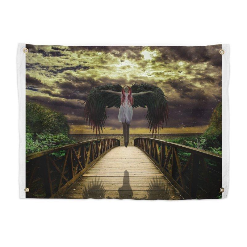 Angel Home Tapestry by Pbatu's Artist Shop