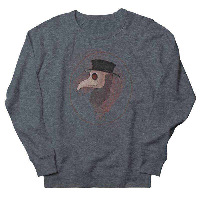 Plague doctor Men's French Terry Sweatshirt by Pbatu's Artist Shop