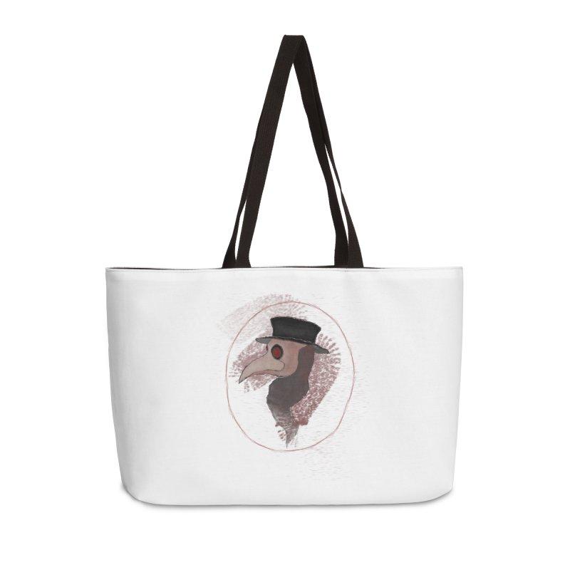 Plague doctor Accessories Weekender Bag Bag by Pbatu's Artist Shop