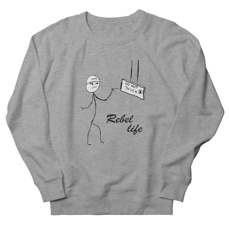 Rebel Women's French Terry Sweatshirt by Pbatu's Artist Shop
