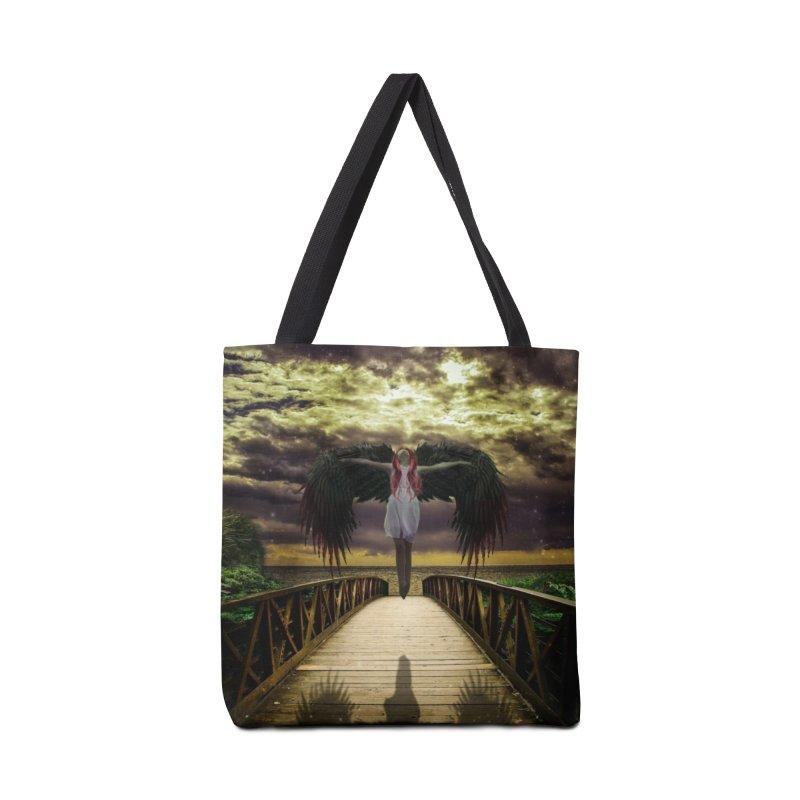 Angel Accessories Tote Bag Bag by Pbatu's Artist Shop