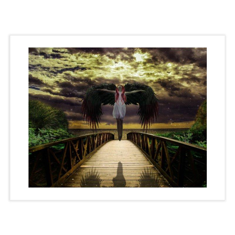 Angel Home Fine Art Print by Pbatu's Artist Shop