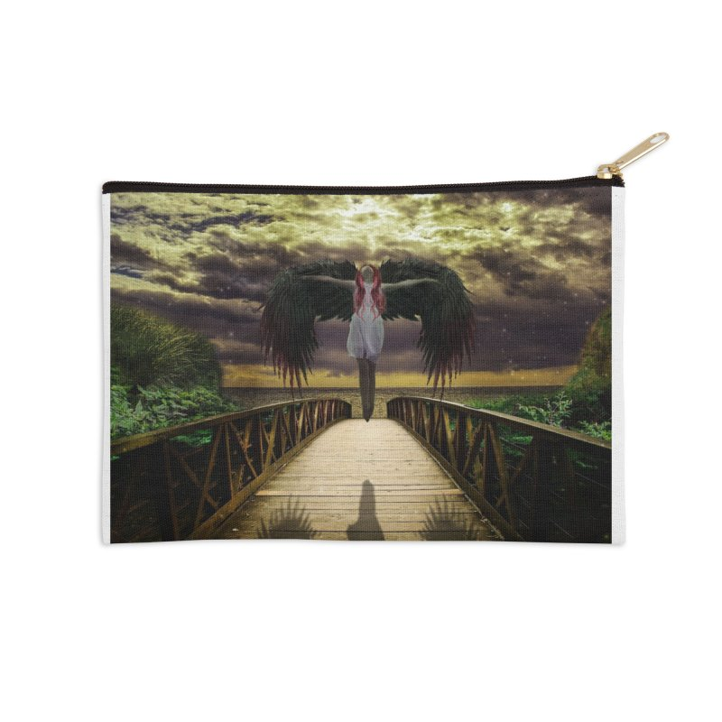 Angel Accessories Zip Pouch by Pbatu's Artist Shop