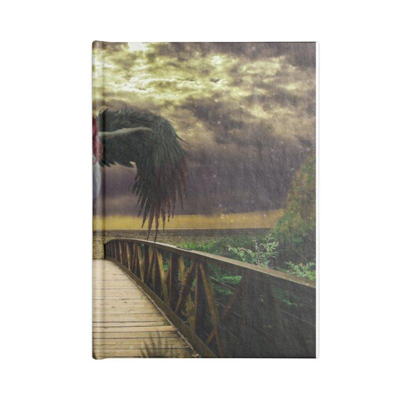 Angel Accessories Lined Journal Notebook by Pbatu's Artist Shop